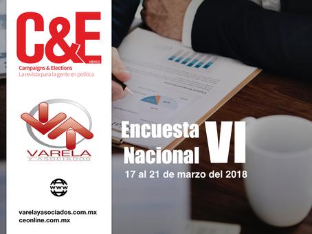 Encuesta Nacional VI. C&E Campaigns & Elections. Varela y Asociados