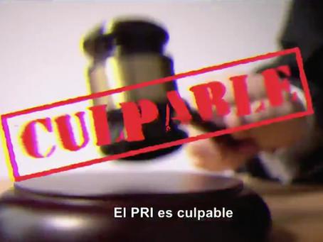 """""""Échale la culpa al PRI"""" Alejandro Moreno, aceptó que su partido es culpable de todo…"""