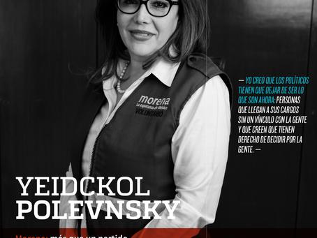 YEIDCKOL POLEVNSKY. Morena: más que un partido, una movilización ciudadana que pugna por el cambio d