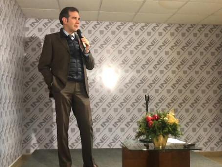 Todo listo para que la ciudadanía emita su voto en Monterrey: Lorenzo Córdova