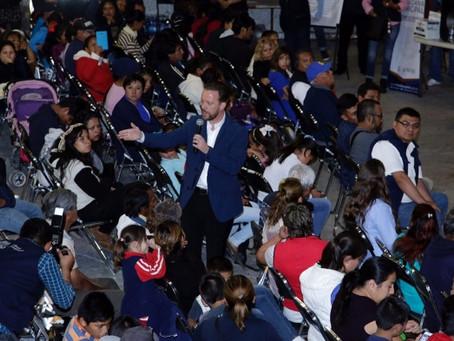 LUIS BANCK Y VECINOS DE SAN JERÓNIMO CALERAS DEFINIERON ACCIONES PRIORITARIAS PARA INVERSIÓN