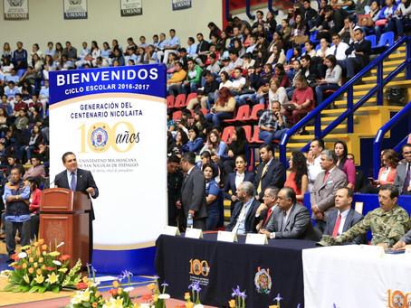 Refrenda Gobernador apoyo a la UMSNH y respeto a su autonomía