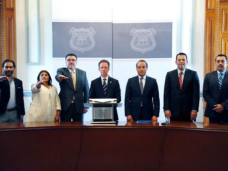 El Alcalde Luis Banck nombró nuevos integrantes del Gabinete Municipal