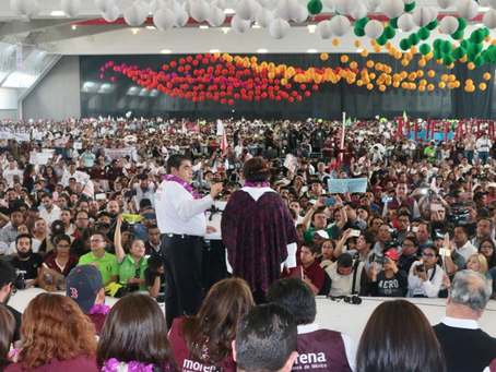 Arrancan campaña candidatos rumbo al gobierno del estado en Puebla