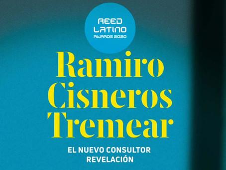 Ramiro Cisneros Tremear. El nuevo consultor revelación Reed Latino 2020