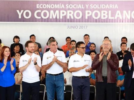 """""""YO COMPRO POBLANO"""" IMPULSA EL TALENTO, GENERA EMPLEOS, INGRESOS Y FORTALECE LA SEGURIDAD"""