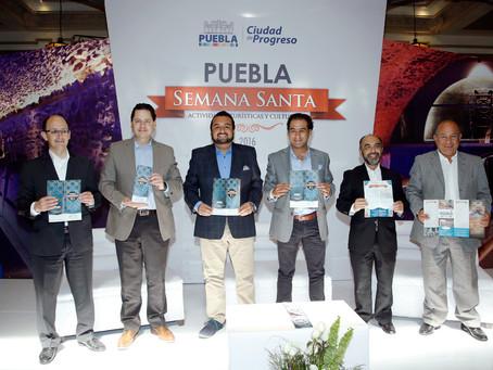 El Ayuntamiento de Puebla presenta oferta turística para semana santa