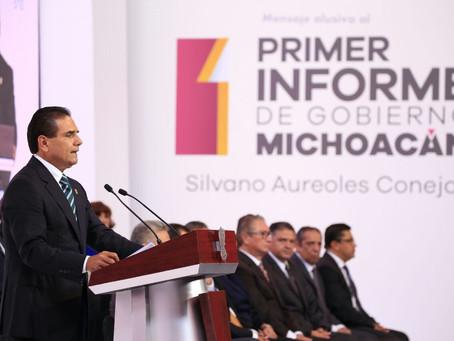Mensaje del Primer Informe de Gobierno, Silvano Aureoles Conejo