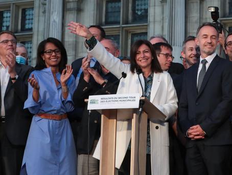 Los ecologistas triunfan en las municipales francesas, marcadas por una abstención récord