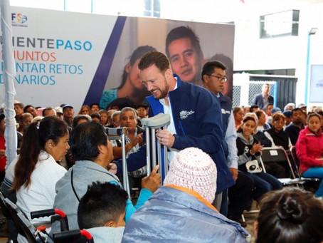EL GOBIERNO DE LA CIUDAD APOYA A PERSONAS CON RETOS EXTRAORDINARIOS PARA MEJORAR SU CALIDAD DE VIDA