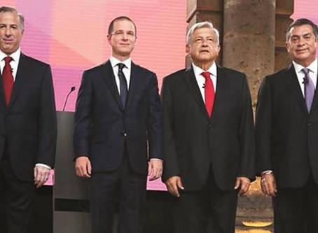 Supera Segundo Debate Presidencial audiencia y llega a 12.6 millones de personas en televisión
