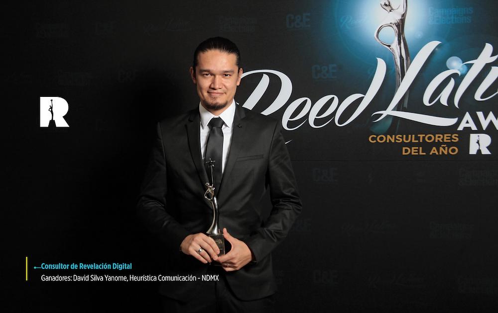 David Silva Yanome, Ganador Reed Latino 2018, como Consultor Revelación Digital