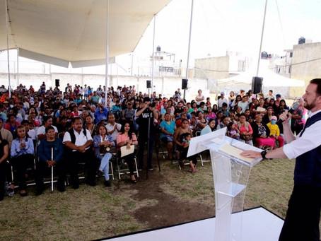 LUIS BANCK PUSO EN MARCHA NUEVOS CAMIONES Y ENTREGÓ EQUIPO PARA FORTALECER EL SERVICIO DE LIMPIA EN