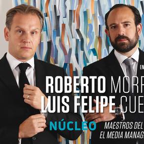 Roberto Morris y Luis Felipe Cueva. Núcleo