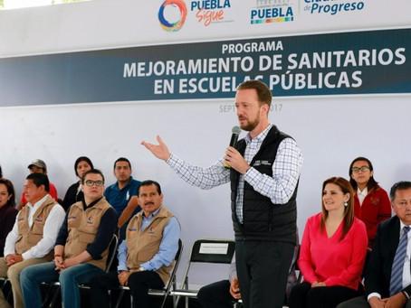 MÁS DE 50 MIL ESTUDIANTES SE BENEFICIARÁN CON LA REHABILITACIÓN DE SANITARIOS EN ESCUELAS