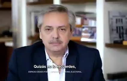 """""""Juntos vamos a ordenar el caos que nos están dejando"""" 1er spot de campaña de Alberto Fernández"""