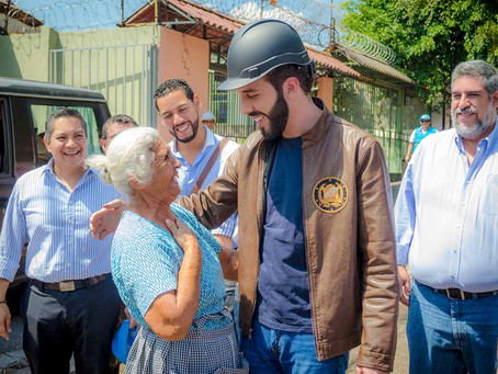 Elecciones El Salvador. Nayib Armando Bukele Ortez