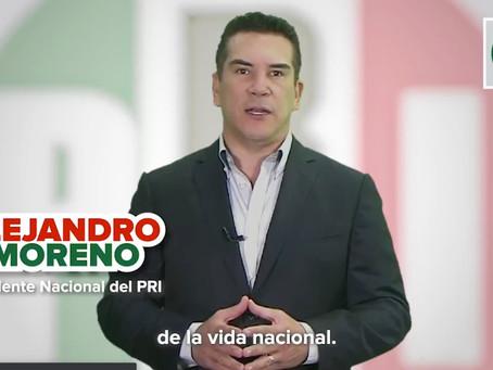Es tiempo de acción y no de ideologías:Alejandro Moreno líder del PRI ante la crisis del Coronavirus