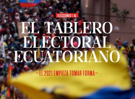 El tablero electoral Ecuatoriano. El 2021 empieza tomar forma