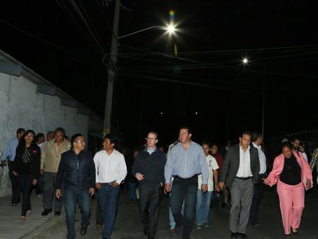 Intensa actividad del Alcalde Banck; inicia su recorrido por las juntas auxiliares