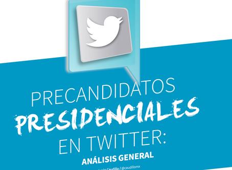 Precandidatos presidenciales en Twitter: análisis general