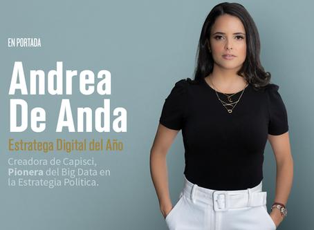 ANDREA DE ANDA. Estratega Digital del Año