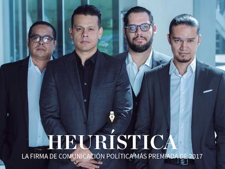 HEURÍSTICA COMUNICACIÓN LA FIRMA DE COMUNICACIÓN POLÍTICA MAS GANADORA DE 2017