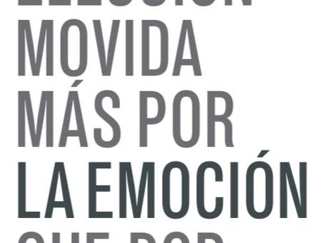 Mexico 2018. Una elección movida más por la emoción que por la razón