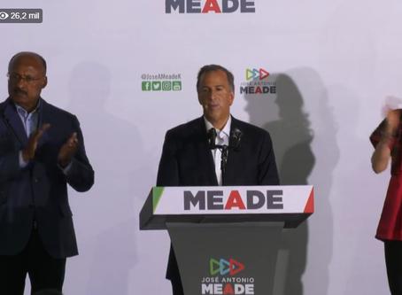 Meade hace histórico reconocimiento tras triunfo de Andrés Manuel López Obrador