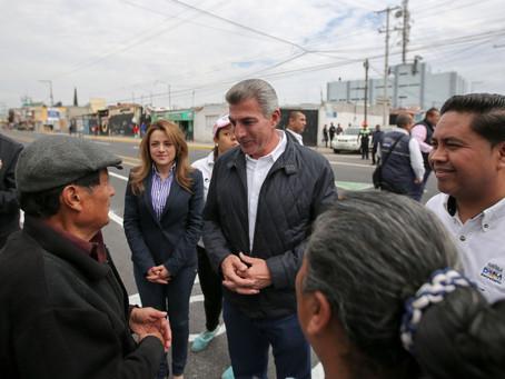 Inaugura Tony Gali rehabilitación de la 16 de Septiembre y Avenida Nacional