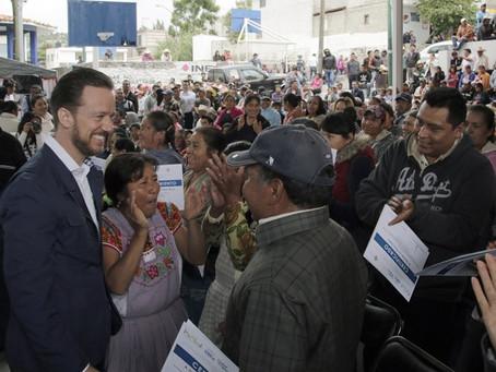 LUIS BANCK IMPULSA EL DESARROLLO DE LAS COMUNIDADES INDÍGENAS DEL MUNICIPIO
