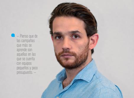 El respeto hacia nuestra labor, la comunicación política, se gana: Sebastián Aguilar Flaschka