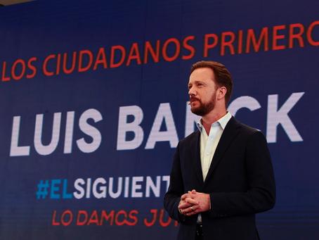 CON LOS CIUDADANOS, LUIS BANCK IMPULSA MÁS SEGURIDAD, EMPLEO E IGUALDAD DE OPORTUNIDADES