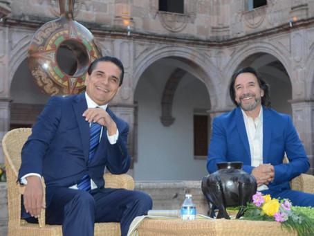 """PRESENTAN SILVANO AUREOLES Y EL BUKI CAMPAÑA """"SOMOS MICHOACÁN"""""""