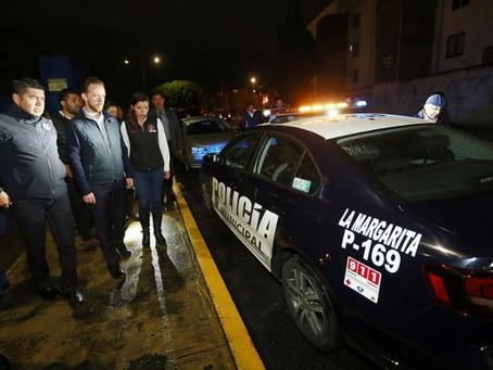 CON MÁS Y MEJORES LUMINARIAS, SE FORTALECE LA SEGURIDAD EN LA MARGARITA
