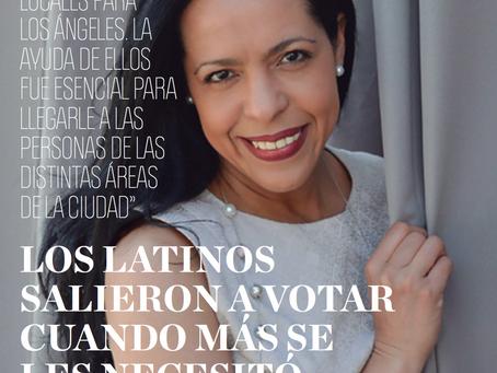 LOS LATINOS SALIERON A VOTAR CUANDO MÁS SE LES NECESITÓ: ELIANNE RAMOS