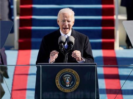 10 frases clave del primer discurso de Joe Biden como presidente de EEUU