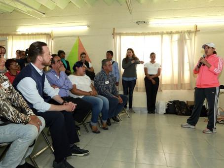 LUIS BANCK Y VECINOS TRABAJAN EN LA MOVILIDAD DEL CRUCERO DE BULEVAR NORTE Y 15 DE MAYO