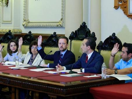 EL CABILDO DE PUEBLA APRUEBA CONTRAER OBLIGACIONES FINANCIERAS PARA PROYECTOS DE SEGURIDAD Y EQUIPAM