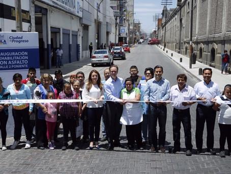 ENTREGA ALCALDE BANCK REHABILITACIÓN DE DOS VIALIDADES