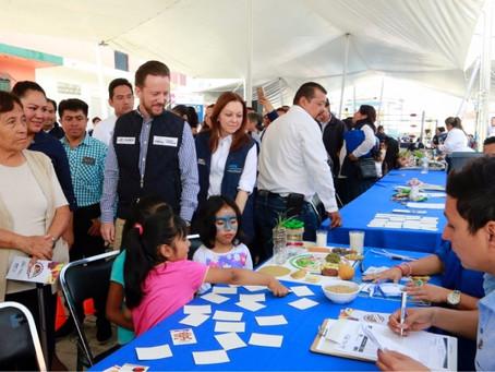 EL GOBIERNO DE LA CIUDAD LLEVA SERVICIOS A FAMILIAS DE LA JUNTA AUXILIAR IGNACIO ZARAGOZA
