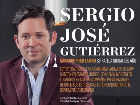SERGIO JOSÉ GUTIÉRREZ GANADOR REED LATINO ESTRATEGA DIGITAL DEL AÑO