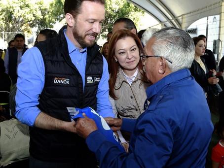 LUIS BANCK Y SUSY ANGULO CONTRIBUYEN A MEJORAR LA CALIDAD DE VIDA PARA PERSONAS CON RETOS EXTRAORDIN