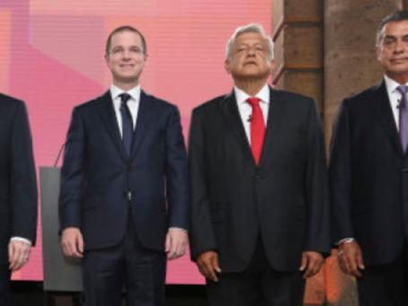 Sortea INE orden de participación de los candidatos y de los moderadores para el Tercer Debate Presi