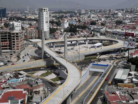 GOBIERNO ESTATAL Y MUNICIPAL INAUGURARON EL NODO VIAL ATLIXCÁYOTL 485