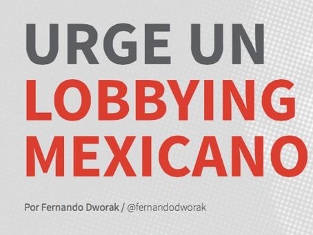 URGE UN LOBBYING MEXICANO