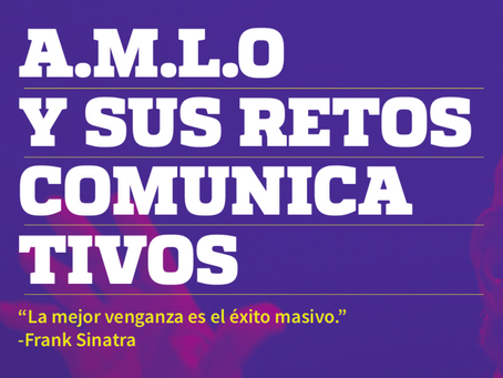 A.M.L.O y sus retos comunicativos.
