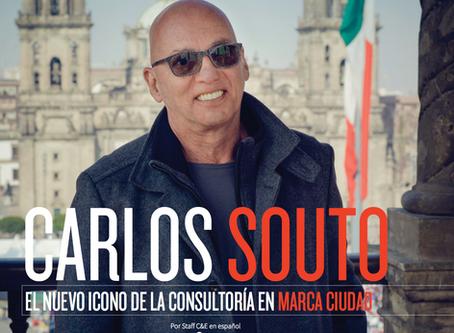 CARLOS SOUTO. EL NUEVO ICONO DE LA CONSULTORÍA EN MARCA CIUDAD