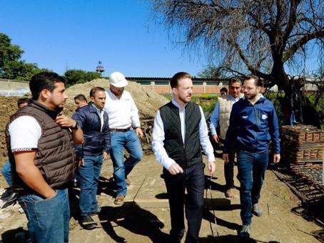 AVANZA LA CONSTRUCCIÓN DE LA PLANTA DE TRATAMIENTO DE AGUAS RESIDUALES EN LA CENTRAL DE ABASTO
