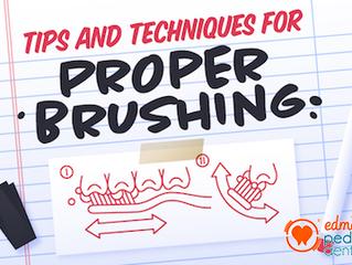 Tips for Proper Brushing Habits